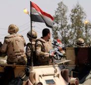 الجيش المصري يعلن عن نتائج حربه ضد