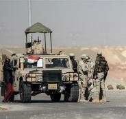 الجيش المصري والمسلحين  في سيناء