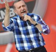 اردوغان والحجاب