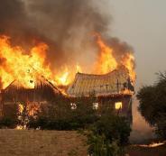 المفقودين جراء الحرائق في كاليفورنيا الامريكية