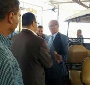 وزير المواصلات في غزة