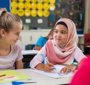 الالمان وارتداء الحجاب في المدارس