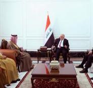 وزير خارجية السعودية في العراق