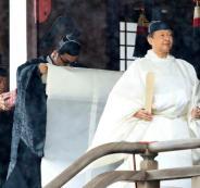 امبراطور اليابان وآلهة الشمس
