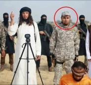 داعشي يعدم احد عناصر القسام