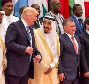 السعودية والامارات والاردن واميركا وايران
