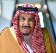 العاهل السعودي في البحر الاحمر