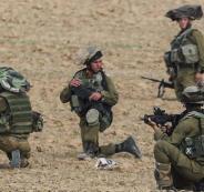 الجيش الاسرائيلي والمتظاهرين على حدود غزة