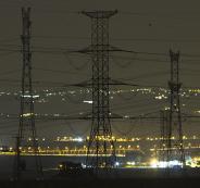 انقطاع التيار الكهربائي عن مدينة رام الله