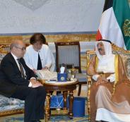 وزير الخارجية الفرنسي في الكويت