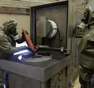 تدمير الاسلحة الكيماوية العراقية