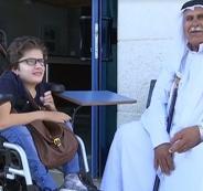 العاهل الاردني يمنح طالبة من جامعة النجاح سيارة