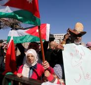 المظاهرات في الاردن