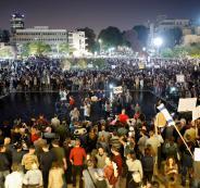 الآلاف يتظاهرون في تل أبيب احتجاجاً على فساد نتنياهو