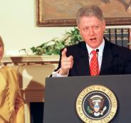 وفاة مفجرة فضيحة كلينتون ومونيكا