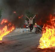 العنف ضد المحتجين في العراق