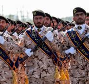 ايران والحرس الثوري الايراني