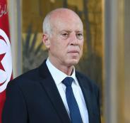 الرئيس التونسي وفلسطين