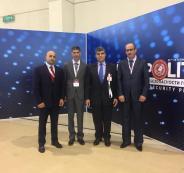 اللواء حازم عطا الله يشارك في المعرض الدولي ال 23 ( الانتربوليتكس ) في موسكو