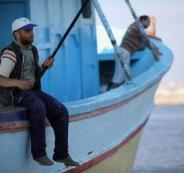 بحرية الاحتلال تعتقل 4 صيادين قبالة بحر مدينة غزة