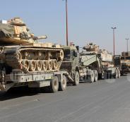 رتل عسكري تركي في ادلب