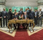 حماس توافق على المصالحة الفلسطينية