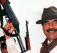 صدام حسين والاسلحة من الفضائيين