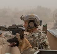 الجيش الامريكي وايران