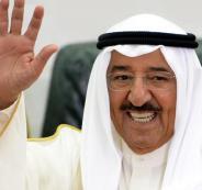امير الكويت يهنئ امير قطر بالفوز على الامارات