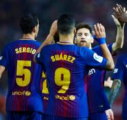 برشلونة في الدوري الاسباني