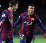 اصابة لاعب برشلونة  رافينيا