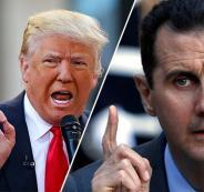 ترامب وبشار الاسد