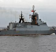 فقدان 15 جندي روسي في اصطدام بحري بمدينة اسطنبول التركية