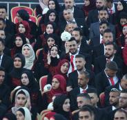 حفل زفاف جماعي في رام الله