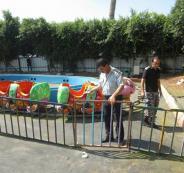 الدفاع المدني يوقف العمل في متنزهين بضواحي القدس لعدم توفر شروط السلامة