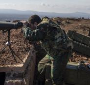 الجيش السوري يسيطر على تل مطل على الجولان المحتل