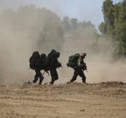 قوات ايرانية على الحدود الاسرائيلية