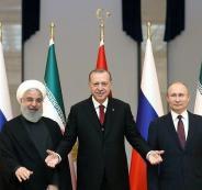 قمة روسية تركية ايرانية خاصة في سوريا