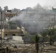 استشهاد مواطن ونجله في انفجار بغزة