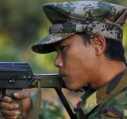 اسرائيل وجيش بورما