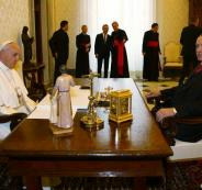 اردوغان والبابا