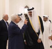 الرئيس وامير قطر