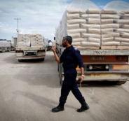 ادخال الاسمنت الى قطاع غزة