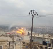 مقتل مدنيين سورييين