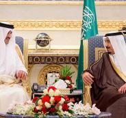 امير قطر في القمة الخليجية