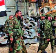 الجيش السوري والحدود مع تركيا