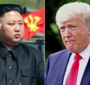 كوريا الشمالية وترامب