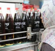 تشغيل خط جديد لمصنع كوكاكولا في غزة سيوفر 200 وظيفة مباشرة