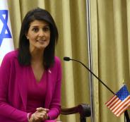 هايلي: أنا قلقة جداً على إسرائيل