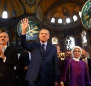 اردوغان وحماس وآيا صوفيا